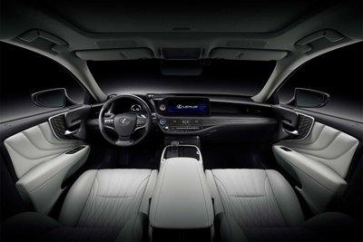 Không gian nội thất xe Lexus LS 2021 1