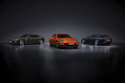 Porsche Panamera 2021 ra mắt Ấn Độ 1