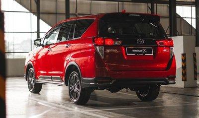 Toyota Innova 2021 facelift mới nổi bật hơn nữa.