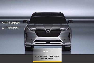 """VinFast đạt giải """"Hãng xe mới có cam kết cao về an toàn"""" 1"""