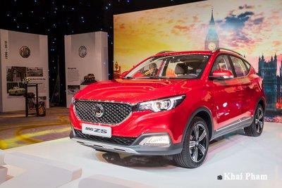 giá xe MG ZS tại đại lý đã giảm hàng chục triệu đồng.