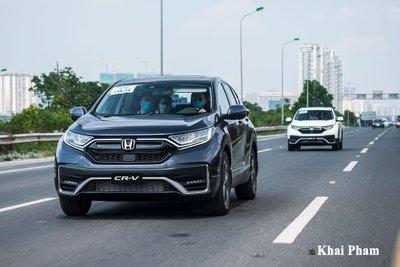 Doanh số Honda CR-V giảm sâu, chỉ còn hơn 350 xe trong tháng 1/2021.