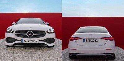 Mercedes-Benz C-Class 2022 thon gọn, thể thao và hầm hố.
