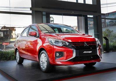 phiên bản CVT Premium của Mitsubishi Attrage 2021.