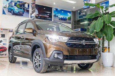 """""""Tân binh"""" Suzuki XL7sử dụng chung nền tảng với """"đàn anh""""Ertiga 1"""