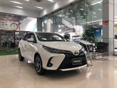 Giá lăn bánh Toyota Vios 2021 mới nhất.