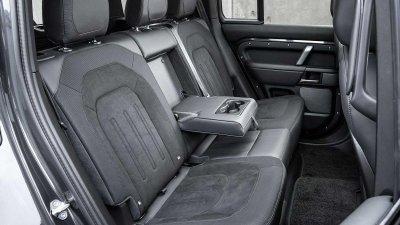 Land Rover Defender 2022 V8 chào giá tại Anh.