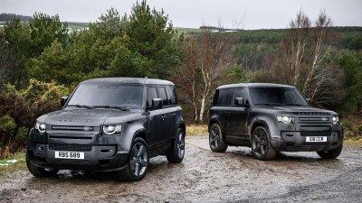 Land Rover Defender 2022 mới hầm hố hơn có thêm bản đặc biệt.
