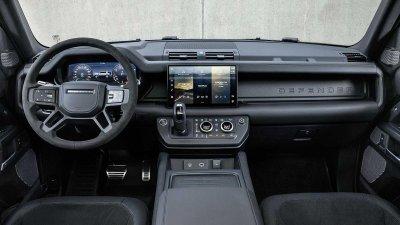 Land Rover Defender 2022 V8 mãn nhãn từ ngoài vào trong.