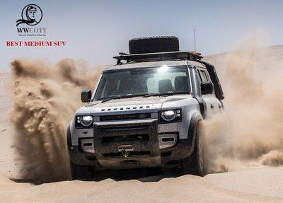 Land Rover Defender - Xe SUV cỡ vừa xuất sắc nhất.