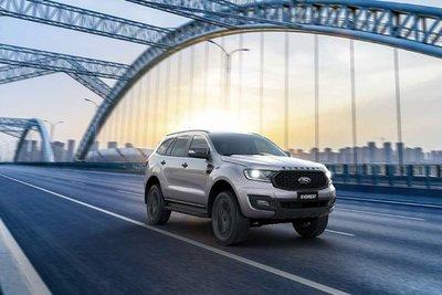 Ford Everest 2021 được bổ sung thêm phiên bản Sport.