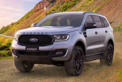 Ford Everest Sport 2021 sẽ có giá bán 1,112 tỷ đồng.