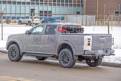 Ford Ranger thế hệ mới lộ ảnh chạy thử 1
