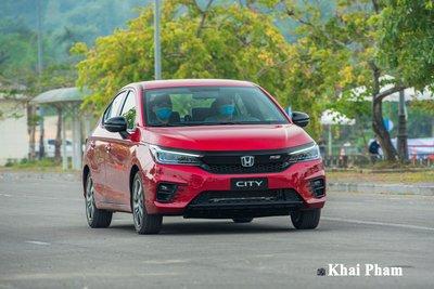 Honda City là mẫu xe có thiết kế trẻ trung, năng động.1