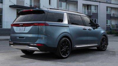 Kia Sedona 2022 công bố giá cụ thể cho thị trường Mỹ.
