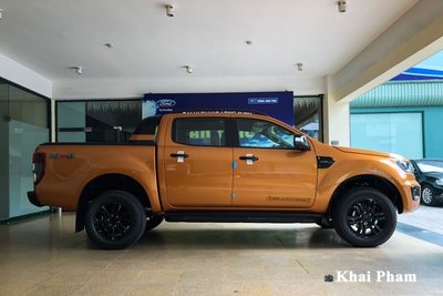 Ngoại hình tổng thể xe Ford Ranger 2021 1
