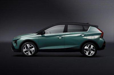 Hyundai Bayon 2021 có lợi thế về khoảng sáng gầm.