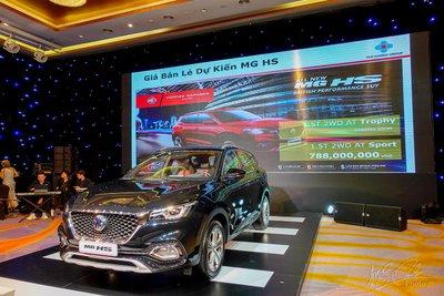 MG HS 2021 bản 2.0T Lux tại Việt Nam 1