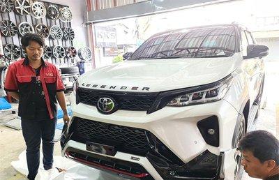 Toyota Fortuner độ Thái.