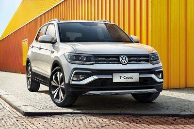 Volkswagen T-Cross 2021 dự kiến chào giá từ 522 triệu đồng.