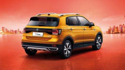 Volkswagen T-Cross 2021 Đông Nam Á dự kiến khác biệt với bản Trung Quốc.