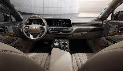 Kia K8 lộ diện toàn bộ nội thất ngay trước thời điểm chính thức ra mắt - Ảnh 1.