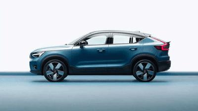 """Volvo C40 2022 sẽ """"lùn"""" hơn đàn anh XC40."""