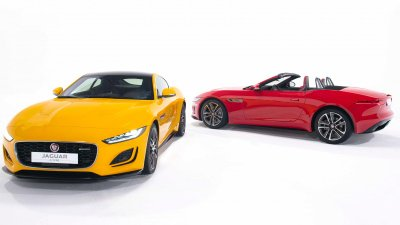 Jaguar F-TYPE 2021 mới ra mắt thị trường Việt 1