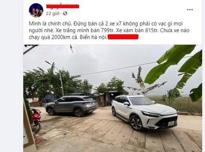 Giá xe BAIC Beijing X7 chạy lướt đắt hơn xe mới, nguyên nhân do đâu? 1