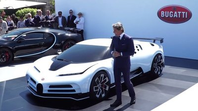 Làm Bugatti Centodieci bằng gỗ cho con trai - Ảnh 1.