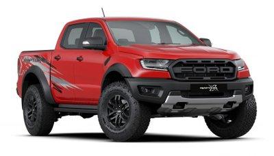 Ford Ranger Raptor X Special Edition bắt mắt hơn nữa.