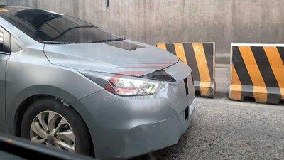 Nissan Sunny 2021 đời mới với nhiều bí ẩn chạy thử tại Philippines.