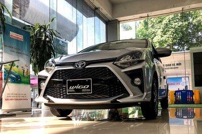 Chỉ thuyết phục 97 khách mua xe trong tháng 2,Toyota Wigo chấp nhận đứng cuối danh sách 1