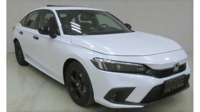 Honda Civic 2022 Sedan mới tại Trung Quốc lộ diện đến 2 cấu hình khác biệt.