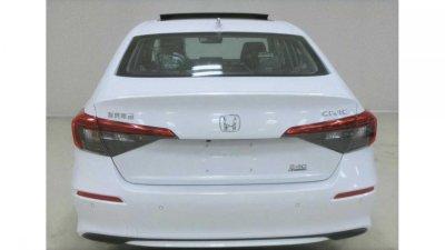 Honda Civic 2022 Sedan lộ ảnh trước ngày vén màn chính thức.
