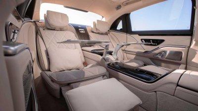 Mercedes-Maybach S-Class 2021 hứa hẹn cung cấp trải nghiệm người dùng tuyệt đỉnh.