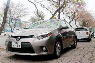 Toyota Corolla 2014 nhập Mỹ.