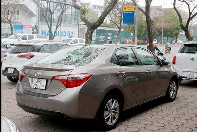 Toyota Corolla Altis 20145