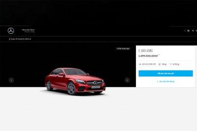 Showroom trực tuyến cung cấp đầy đủ các thông tin về mẫu xe, giá bán và trang bị của từng phiên bản.