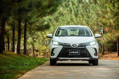 Toyota Vios 2021 phiên bản mới 1.