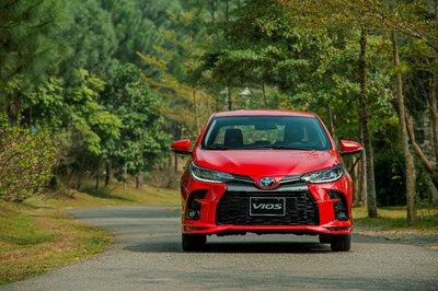 Toyota Vios 2021 phiên bản mới GR-S.