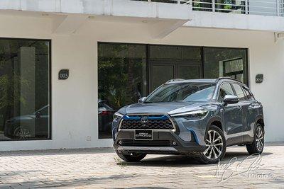 Toyota Corolla Cross nhập khẩu Thái Lan về Việt Nam 1
