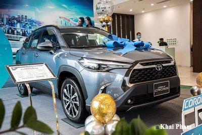 Mẫu xe có đóng góp to lớn nhất vào kết quả kinh doanh của TMV là Toyota Corolla Cross 1