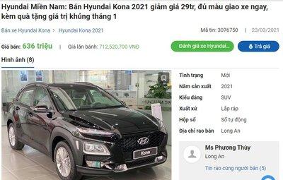 Đại lý liên tục điều chỉnh giá sốc cho Hyundai Kona, giảm sâu nhất 60 triệu đồng a2