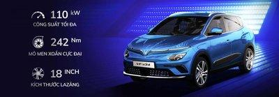 VinFast VF e34 ra mắt, giá dưới 600 triệu đồng, tham vọng vợt khách của Seltos, Kona a1