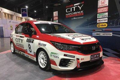 [Bangkok 2021] Honda City phiên bản xe đua trình làng.