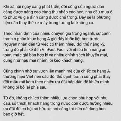 """Điều gì khiến dòng xe hạng A """"ăn nên làm ra"""" tại thị trường Việt Nam? a6"""