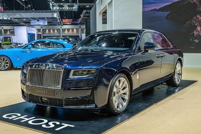 [Bangkok 2021] Rolls-Royce Ghost 2021 thế hệ mới chào giá đáng đồng tiền đại gia.