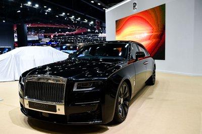 [Bangkok 2021] Rolls-Royce Ghost 2021 thế hệ mới cuốn hút mọi ánh nhìn trong buổi triển lãm.
