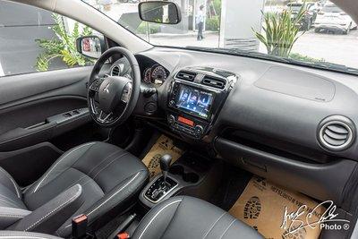 Nội thất của Mitsubishi Attrage 2021 không quá khác biệt so với bản 2020.